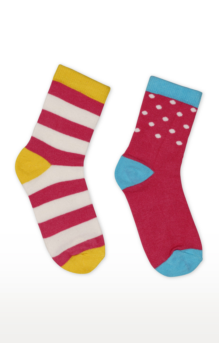 Mothercare | Multicoloured Printed Socks - Pack of 2
