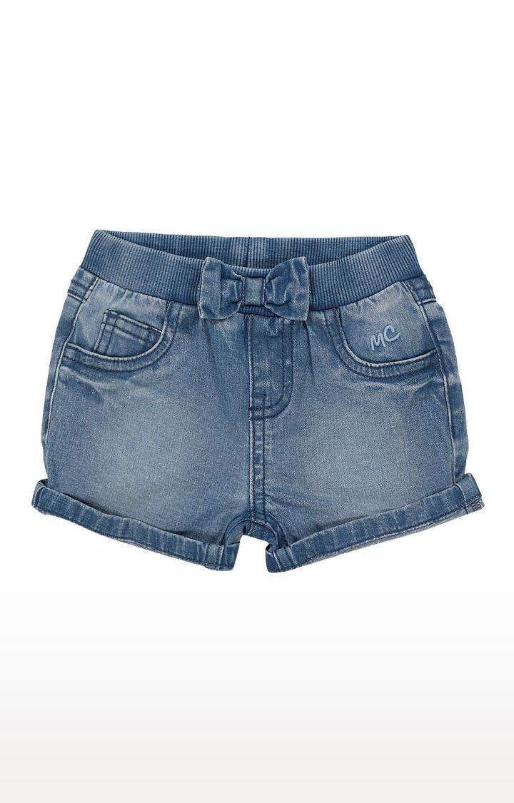 Mothercare   Girls Shorts - Washed Denim