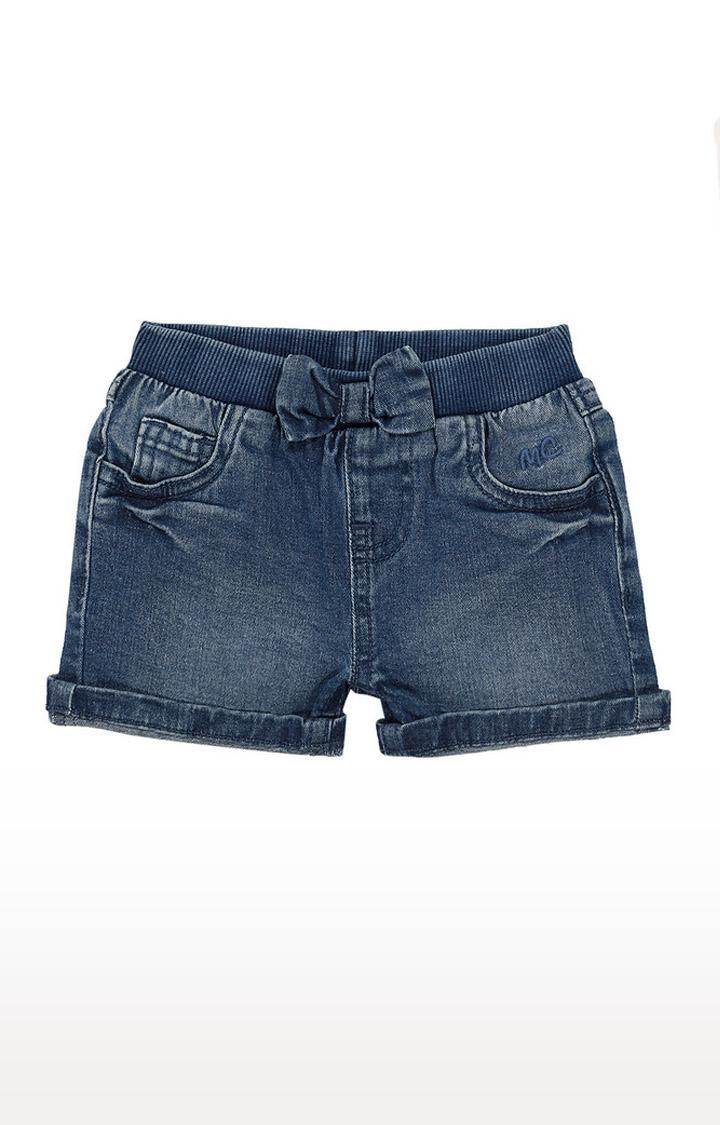 Mothercare | Girls Shorts - Washed Denim
