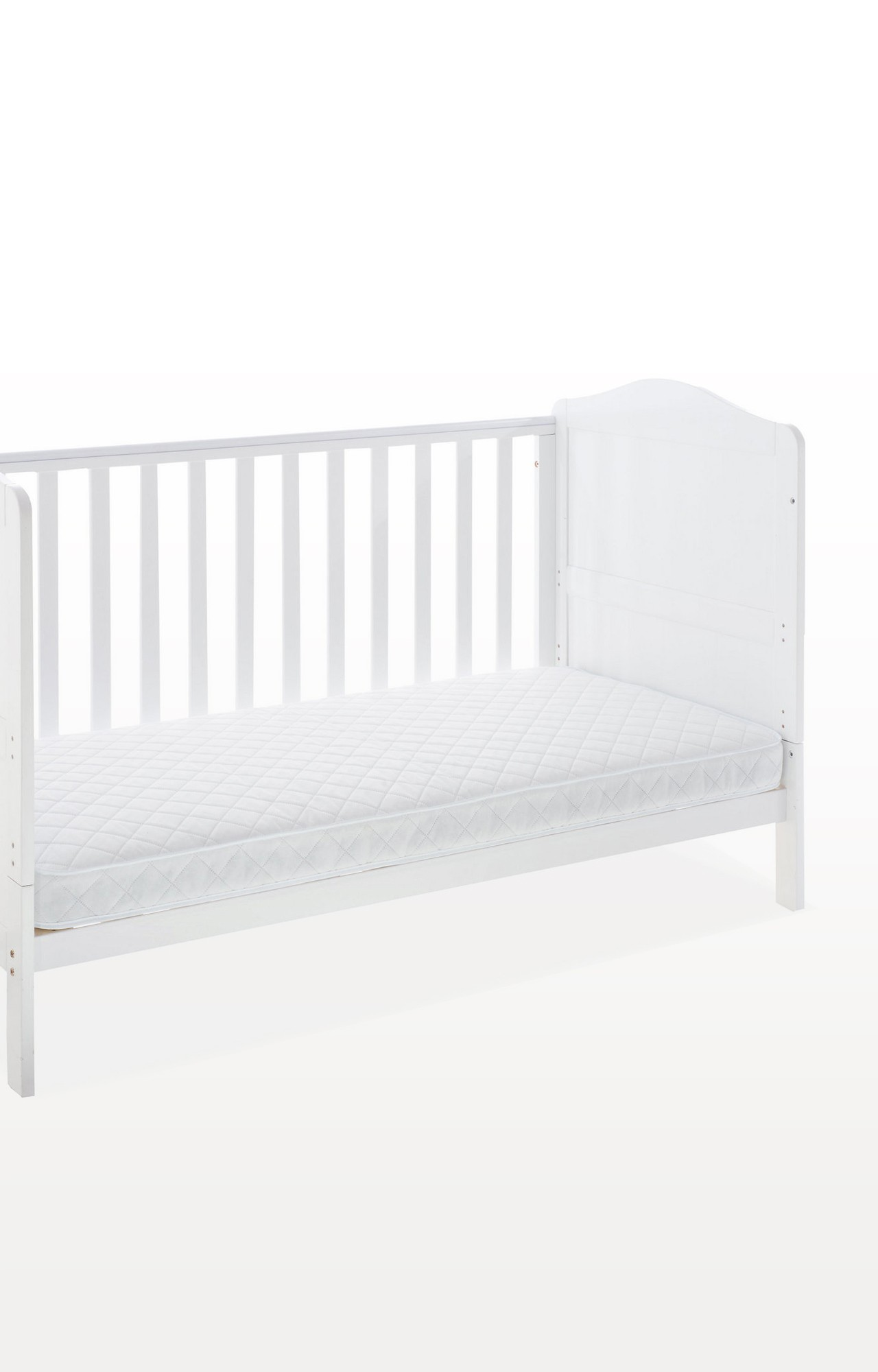 Mothercare | Mothercare Essential Spring Interior Cot Bed Mattress White