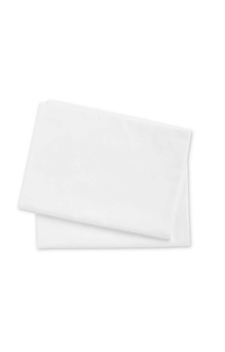 Mothercare | White Cotton Cot or Cot Bed Flat Sheets - Pack of 2