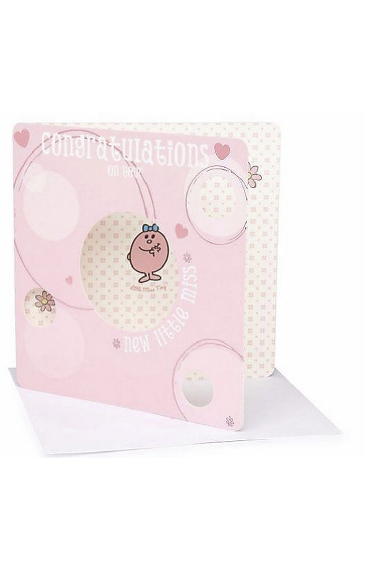 Mothercare | Little Miss New Baby Card