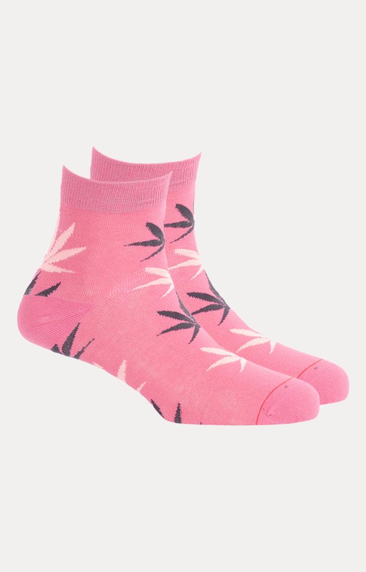Soxytoes | Pink Printed Socks