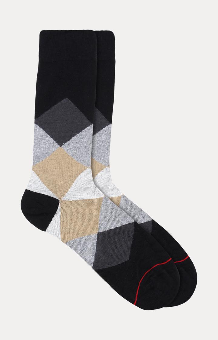 Soxytoes   Black Checked Socks