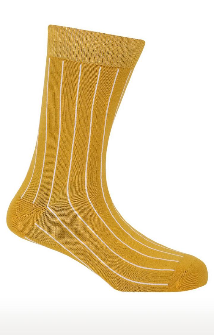 Soxytoes   Sunbeam Yellow Free Size Cotton Socks