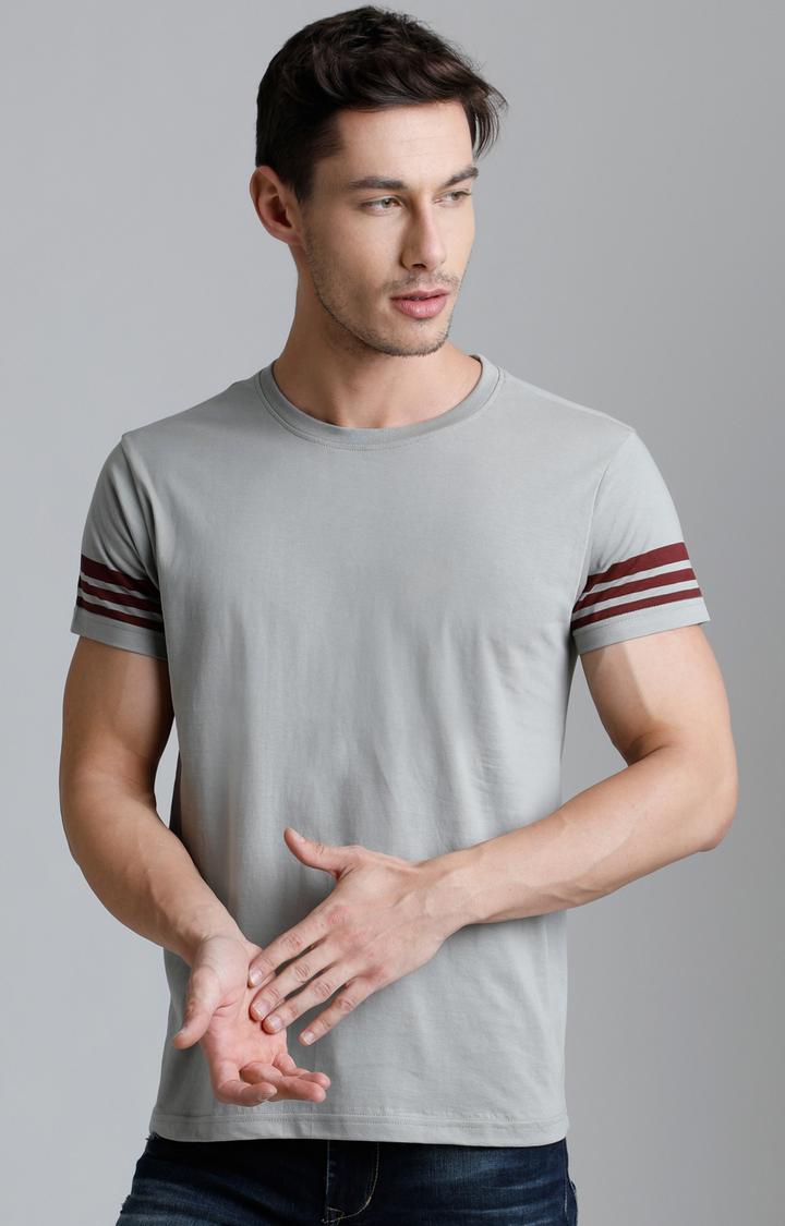 Grey Solid T-Shirt