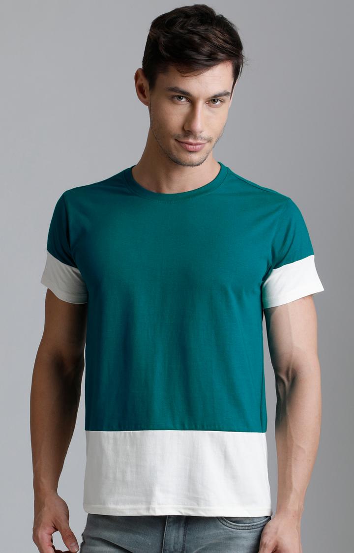 Dillinger   Green Colourblock T-Shirt