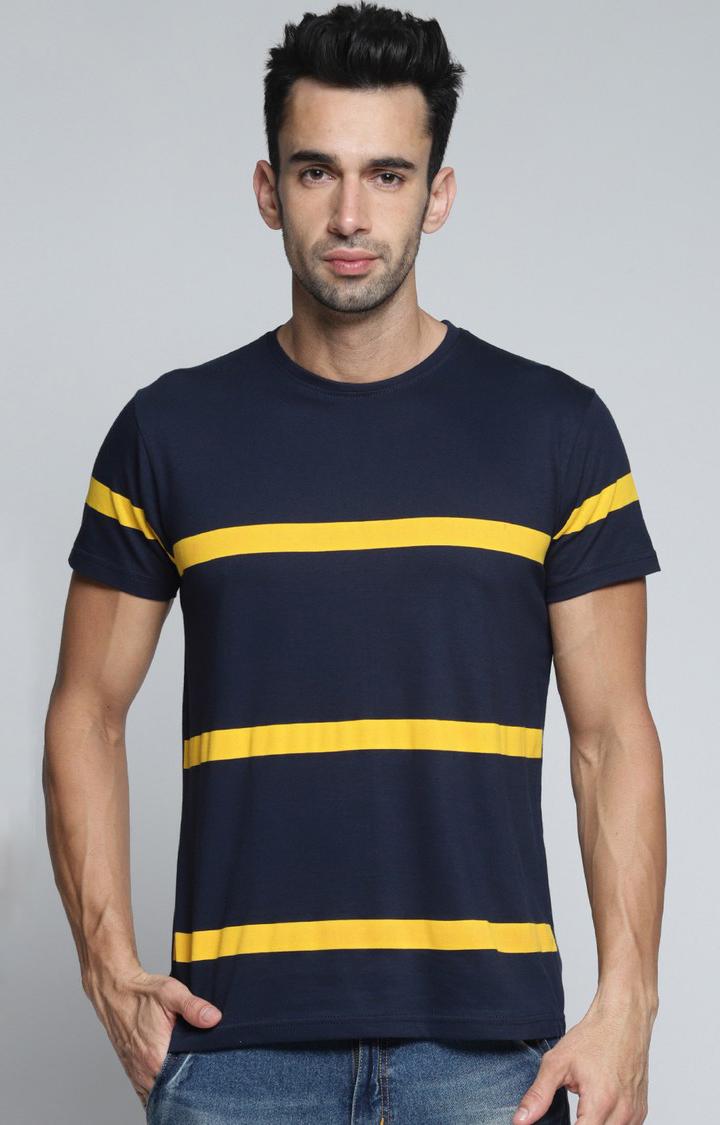 Dillinger | Navy Striped T-Shirt
