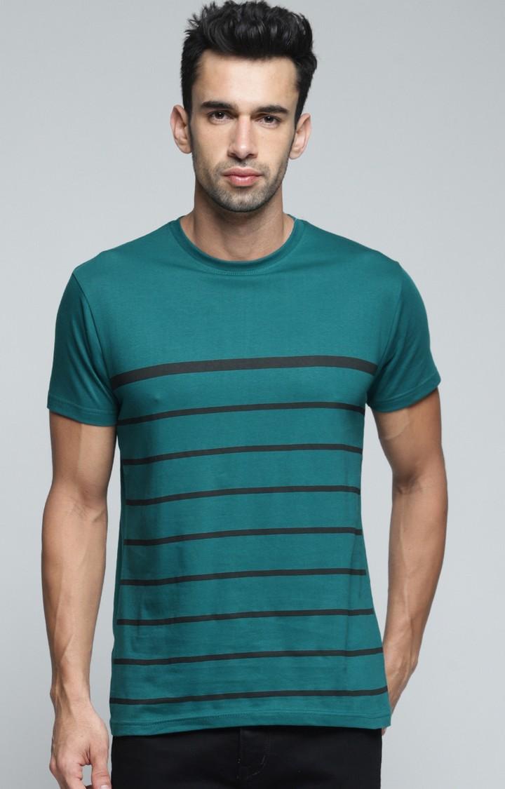 Dillinger   Green Striped T-Shirt