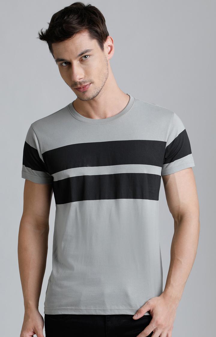 Dillinger   Grey Colourblock T-Shirt