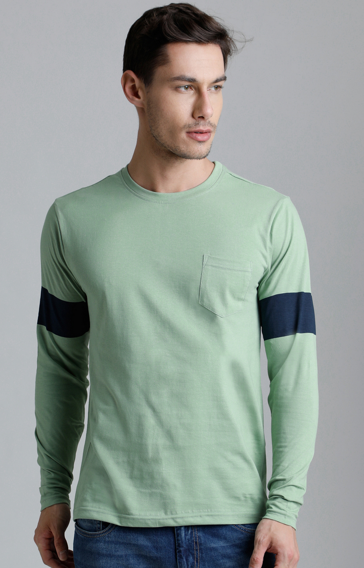 Dillinger   Green Solid T-Shirt