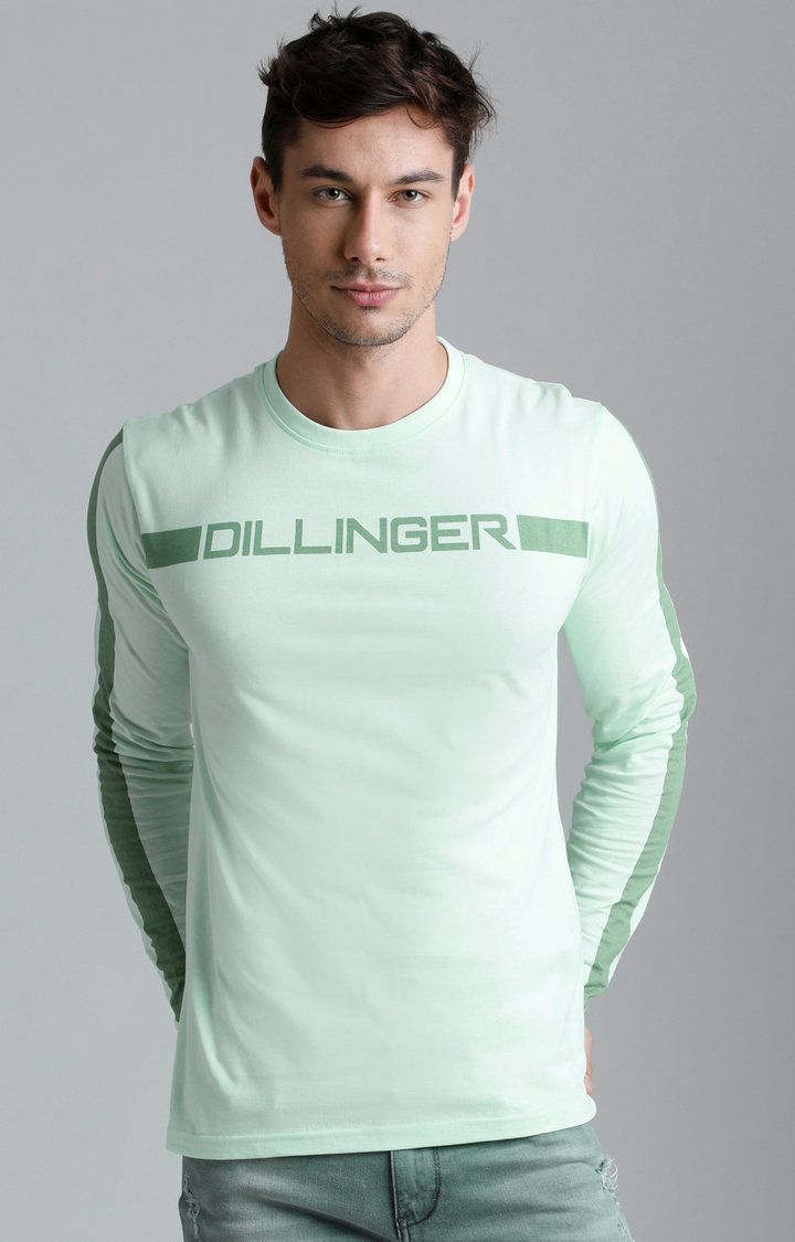 Dillinger   Green Printed T-Shirt