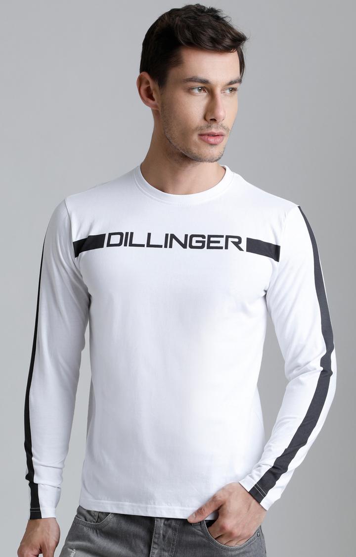 Dillinger | White Printed T-Shirt