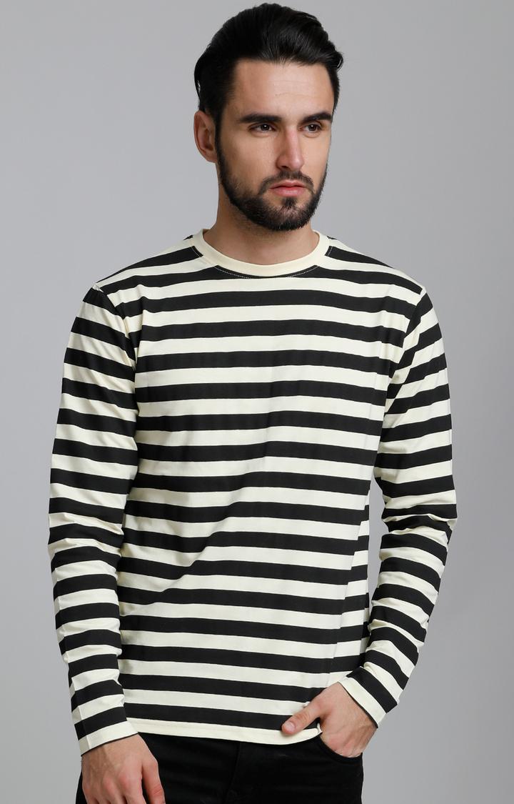 Dillinger | Light Yellow Striped T-Shirt