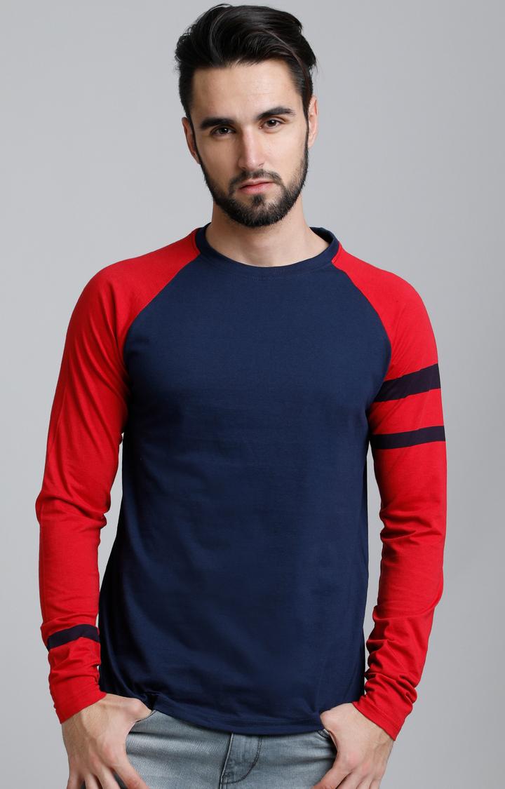 Dillinger   Navy Blue Solid T-Shirt