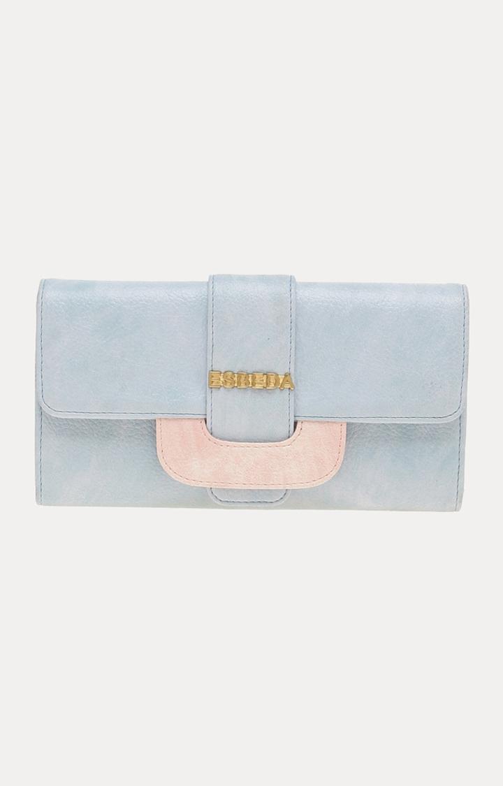 ESBEDA   Light Blue Wallet