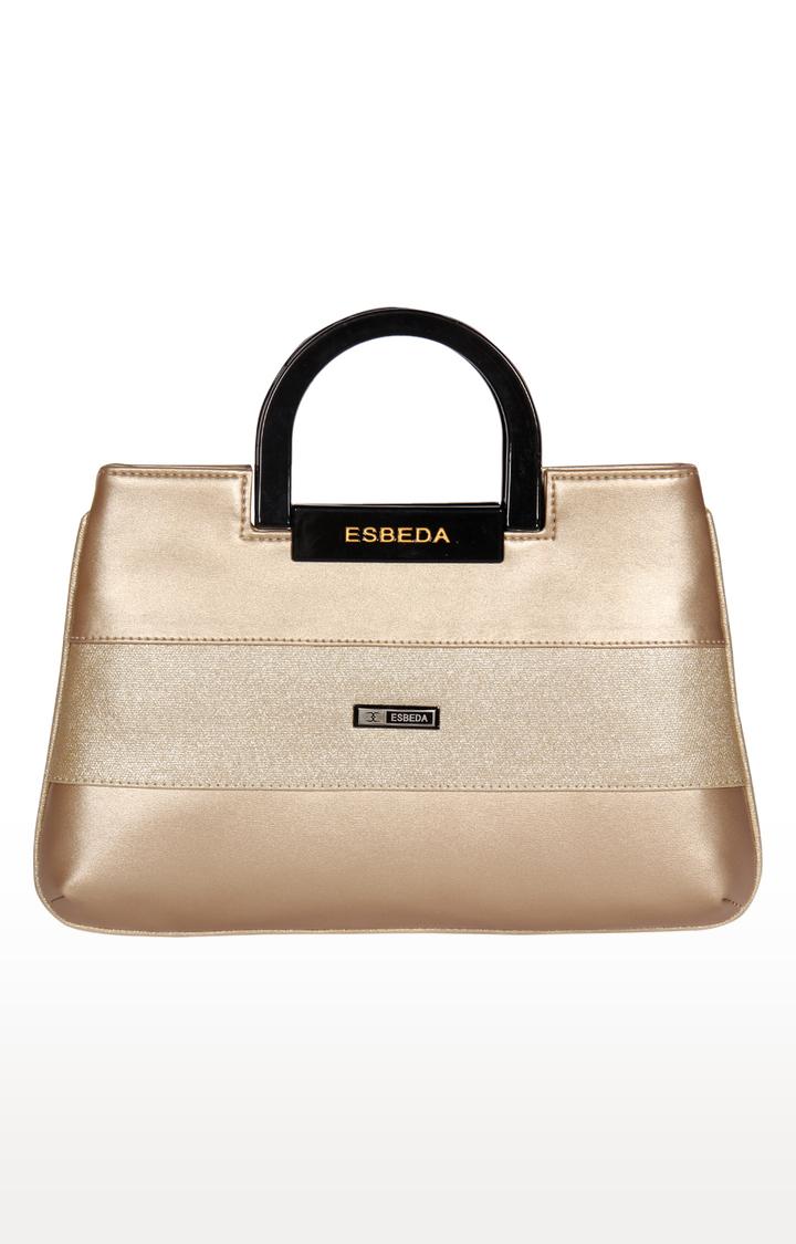 ESBEDA   Gold Clutch
