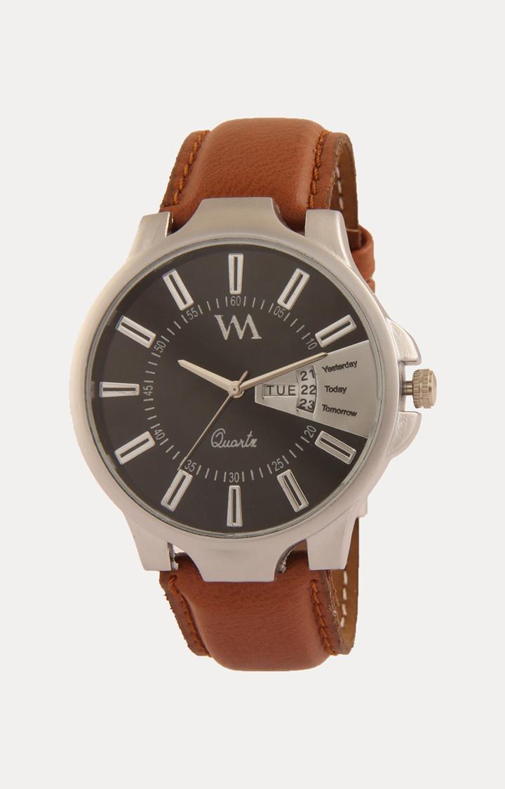 Watch Me | Watch Me Tan Analog Watch For Men