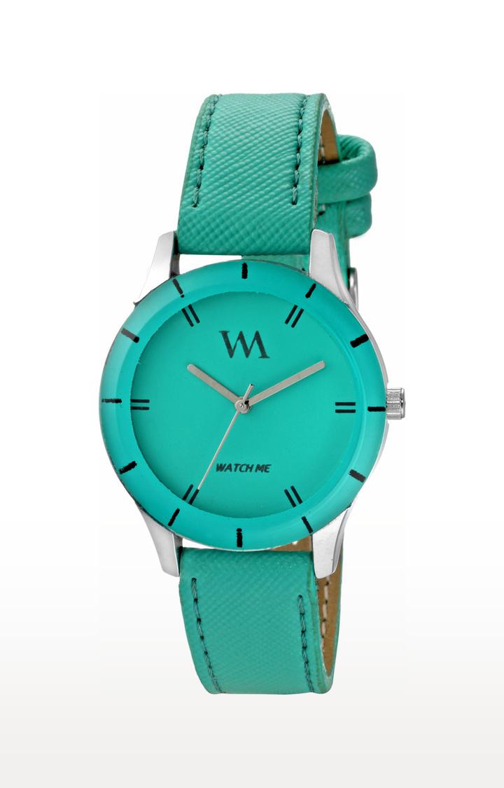 Watch Me | Watch Me Green Analog Watch For Women