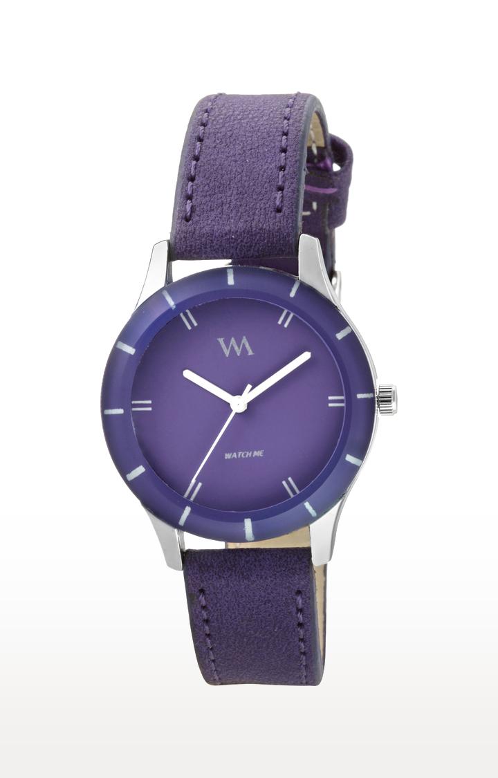 Watch Me | Watch Me Purple Analog Watch For Women