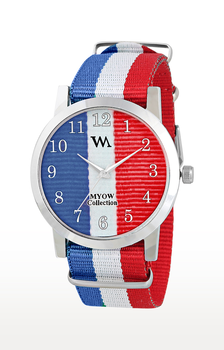Watch Me   Watch Me Multicoloured Analog Watch For Men