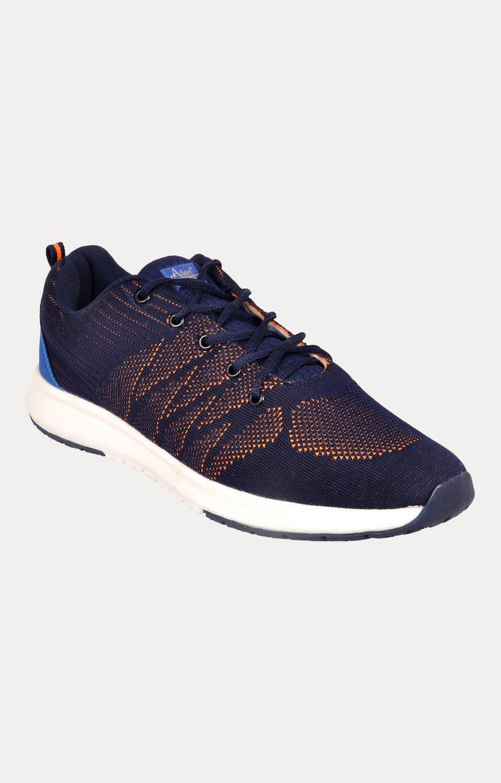 Allen Cooper   Navy Sports Shoes