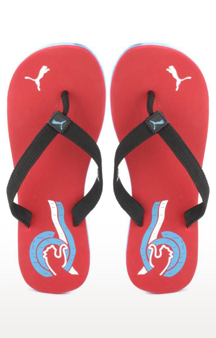 Puma | Red Flip Flops