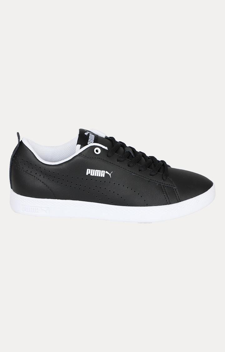 Puma | PUMA SMASH WNS V2 L PERF PUMA BLACK-PUMA LIFESTYLE SHOES