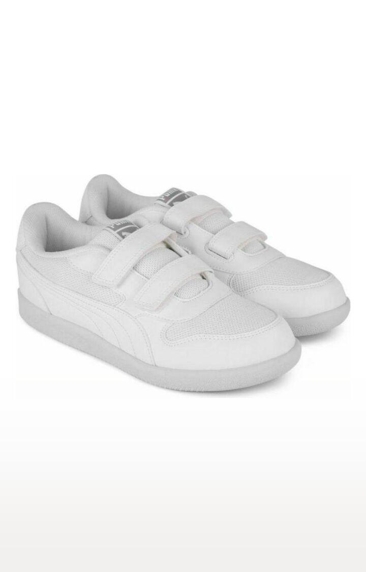 Puma   White Casual Slip-ons