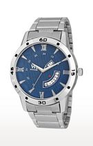 Watch Me Silver Analog Watch For Men