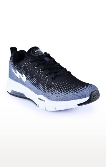 Campus Shoes | Grey and Black Sports Shoes