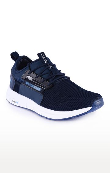 Campus Shoes | Navy Spray Running Shoes