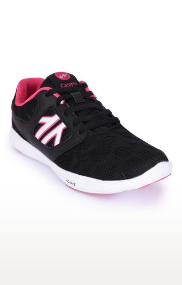 Campus Shoes | Black Sports Shoes