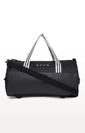 EVOQ   Black Waterproof Duffle Bag