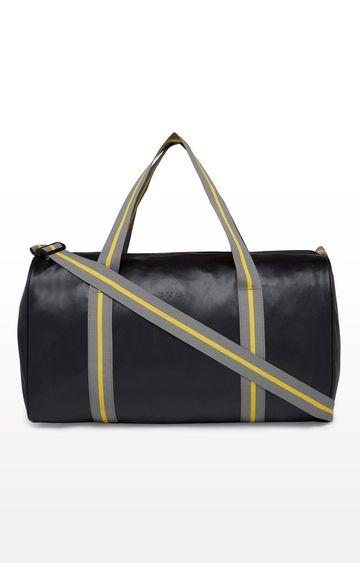 EVOQ | Black Classic Vegan Duffle Bag