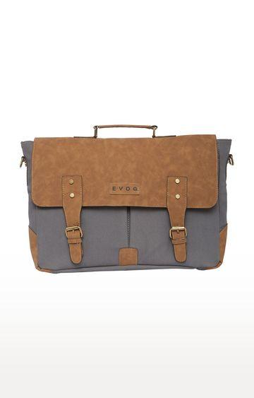 EVOQ | Grey Messenger Bag