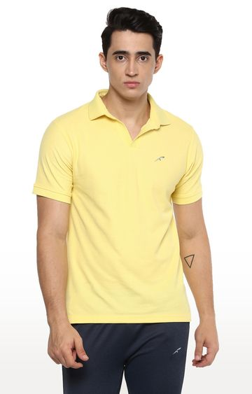 Furo | Yellow Solid T-Shirt