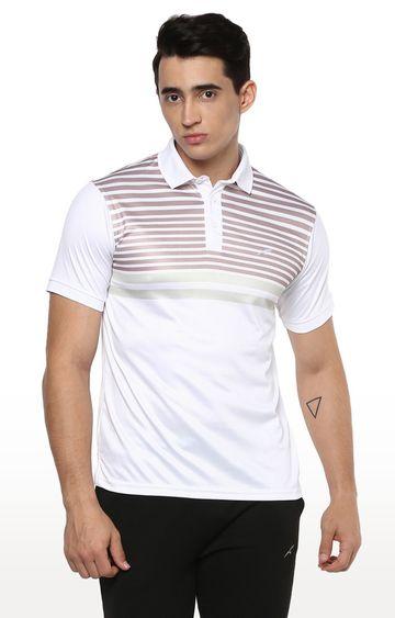Furo | White Striped T-Shirt