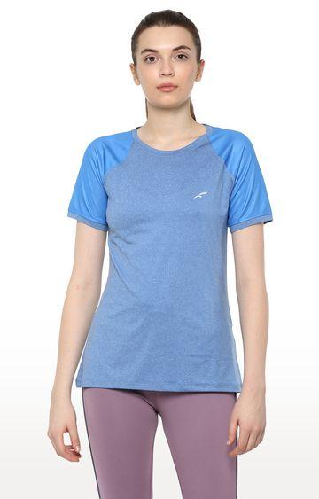Furo | Blue Colourblock T-Shirt
