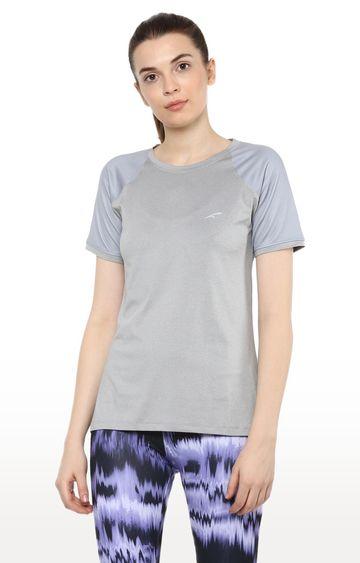 Furo | Grey Colourblock T-Shirt