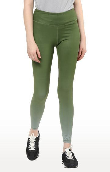 Furo | Green Solid Tights