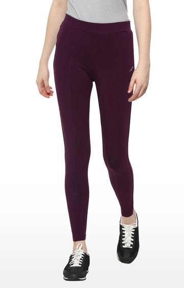 Furo | Purple Solid Tights