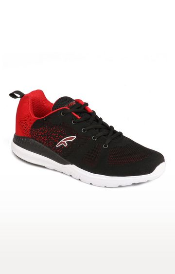 Furo | Black & Red Running Shoes