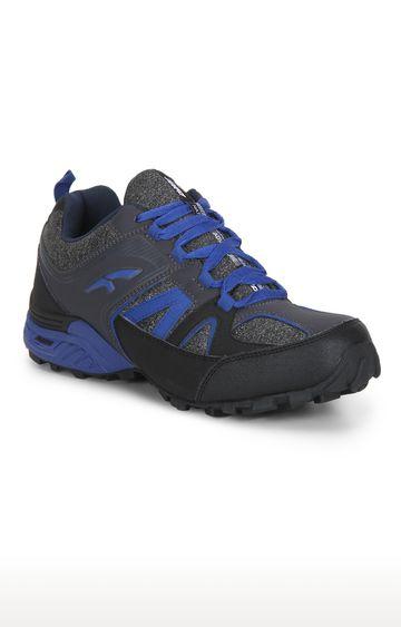 Furo | Grey & Blue Hiking Shoes