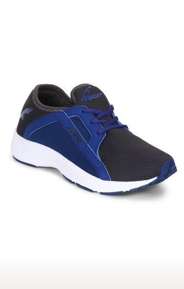 Furo | O-5013 853 - Black & Blue Running Shoes