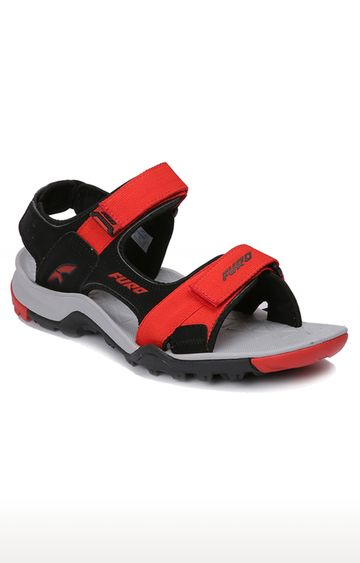 Furo   Black & Red Floaters
