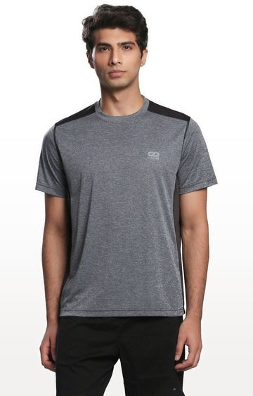 SilverTraq | Grey Melange T-Shirt
