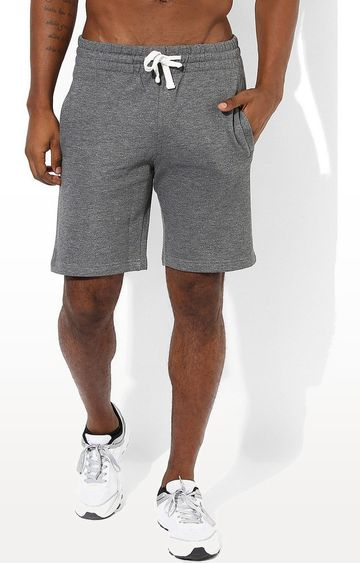 SilverTraq | Grey Melange Shorts