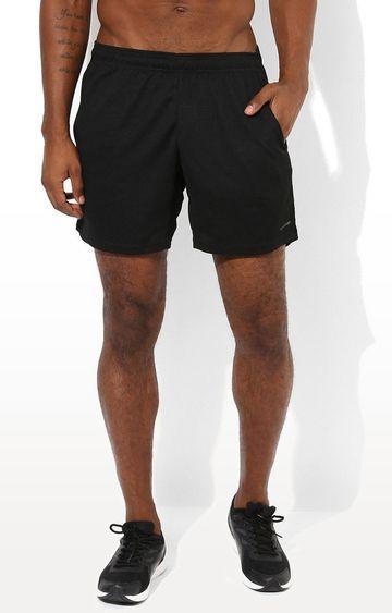 SilverTraq   Black Solid Shorts
