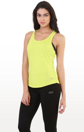 SilverTraq | Sulphur Yellow Solid Tank Top
